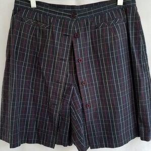 Preppy SKORT PLUS Size Scooter Skirt Golf Tennis